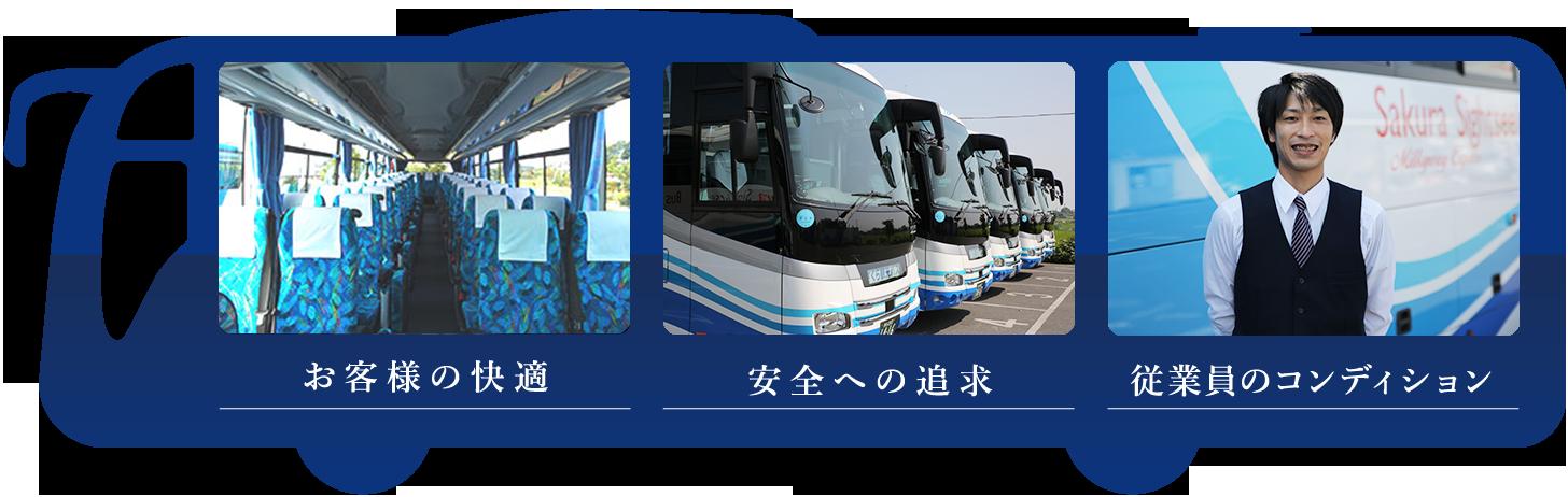 さくら観光バスの約束